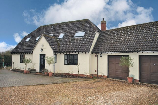 Thumbnail Detached house for sale in Mill Road, Kedington, Haverhill