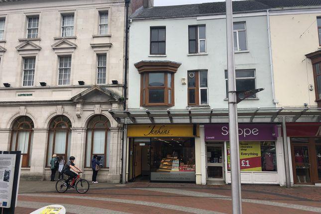 Thumbnail Retail premises for sale in Stepney Street, Llanelli