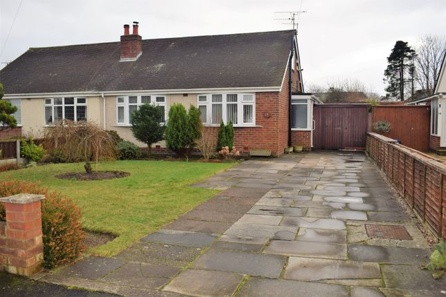 Thumbnail Semi-detached bungalow for sale in Walker Close, Formby