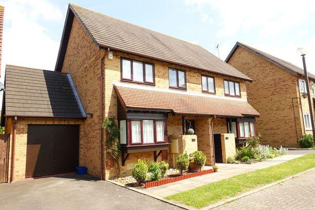 Thumbnail Semi-detached house to rent in Isaacson Drive, Wavendon Gate, Milton Keynes