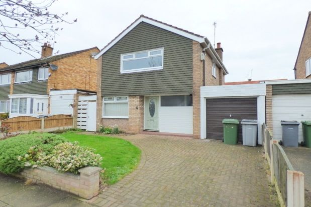 Thumbnail Detached house to rent in Brookhurst Avenue, Bromborough, Wirral