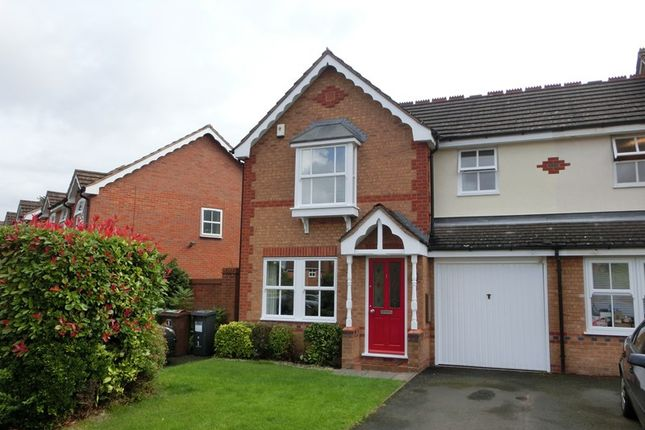 Thumbnail End terrace house for sale in Mayfield Close, Hillfield, Solihull