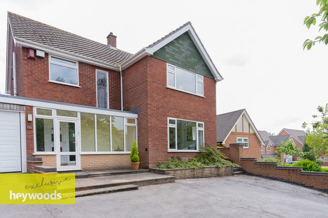 Thumbnail Detached house for sale in Harrowby Drive, Westlands, Newcastle
