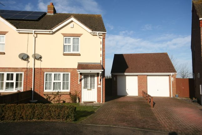 2 bed semi-detached house to rent in Strawberry Fields Drive, Holbeach St Marks