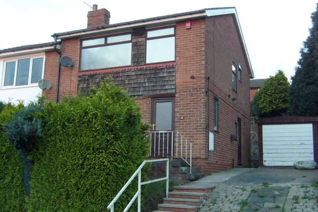 Thumbnail Semi-detached house to rent in Wayne Close, Batley