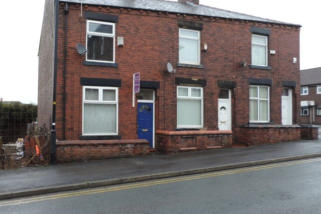 Thumbnail End terrace house to rent in Sheepfoot Lane, Royton, Oldham