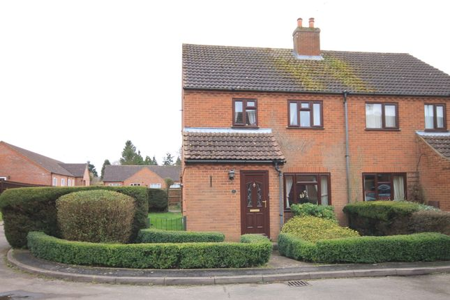 Thumbnail Semi-detached house for sale in Olivia Close, Fakenham