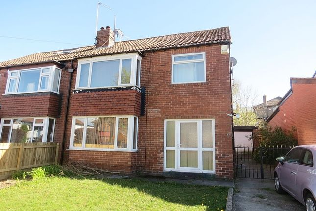 Thumbnail Semi-detached house to rent in Sandhill Oval, Alwoodley, Leeds