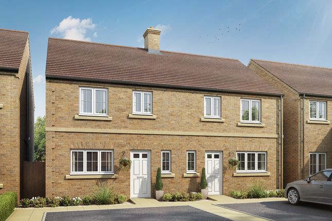 """3 bed semi-detached house for sale in """"The Chester"""" at Mentmore Road, Cheddington, Leighton Buzzard LU7"""