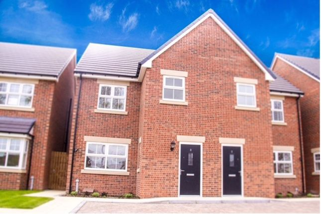 Semi-detached house for sale in Laburnum Grove, West Auckland, Bishop Auckland
