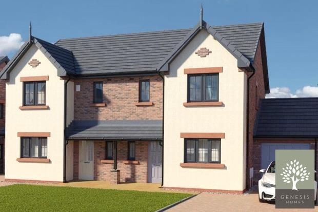 Thumbnail Semi-detached house for sale in The Gelt, St. Cuthberts, Wigton