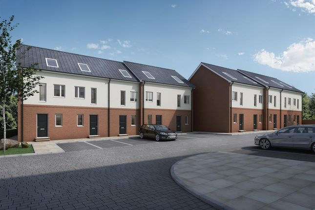 Thumbnail Town house for sale in The Orchard, The Woodlands, Poolsbrook, Chesterfield