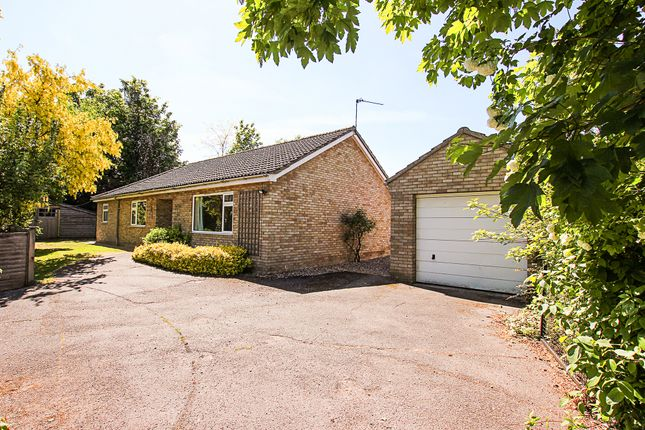 Thumbnail Detached bungalow for sale in Church Lane, Exning