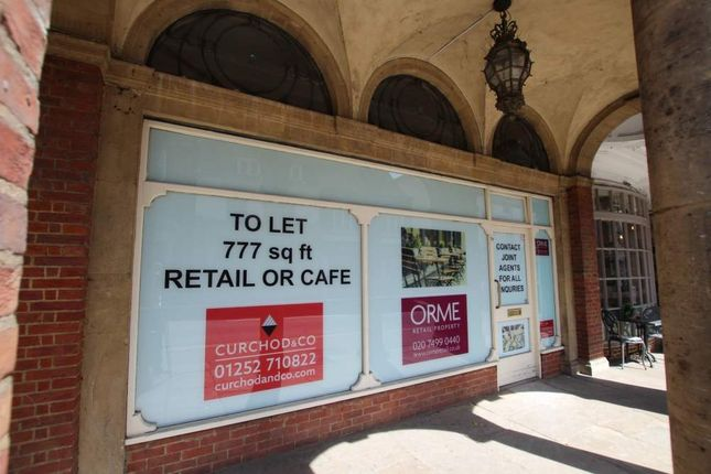 Thumbnail Retail premises to let in 3 Town Hall Buildings, Farnham, Surrey