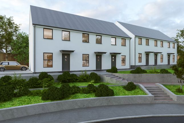 2 bed end terrace house for sale in Plots 4 & 7 Chyryn Drive, St Breward, Cornwall