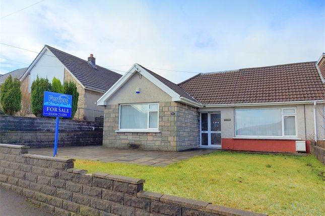 Thumbnail Semi-detached bungalow for sale in Alma Road, Maesteg, Mid Glamorgan