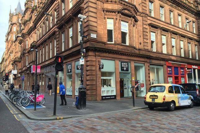 Thumbnail Retail premises to let in Gordon Street, Glasgow