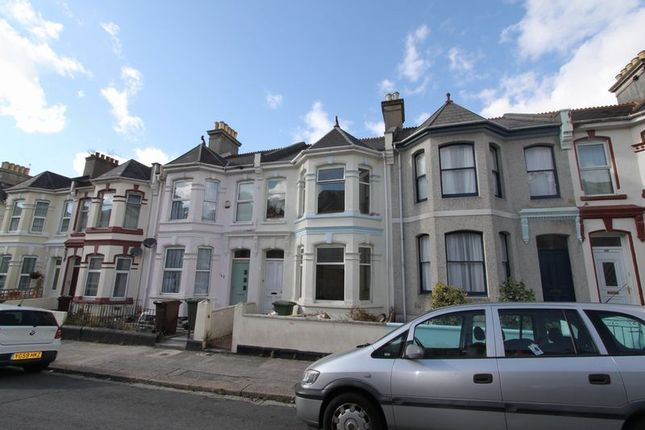 Thumbnail Terraced house to rent in Pasley Street, Stoke, Plymouth