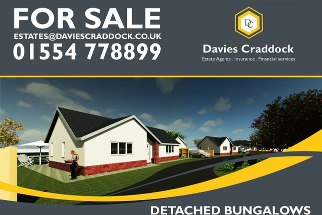 Thumbnail Bungalow for sale in Heol Y Meinciau, Pontyates, Carmarthenshire