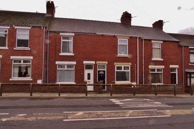 Front of Cooperative Terrace, Stanley, Crook DL15