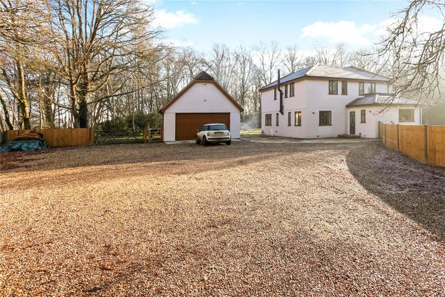 Thumbnail Detached house for sale in Castle Road, Farley Hill, Reading, Berkshire