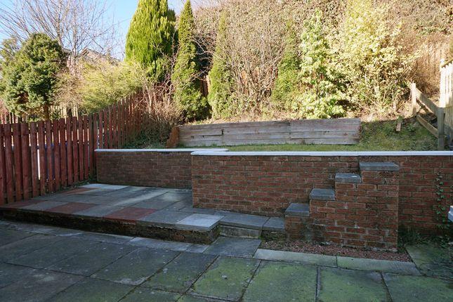 Rear Gardens of Maclean Place, Stewartfield, East Kilbride G74
