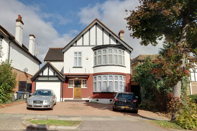 Thumbnail Detached house for sale in Vera Avenue, Grange Park