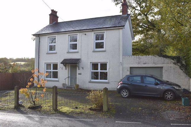 Thumbnail Detached house for sale in Pentre-Cwrt, Llandysul