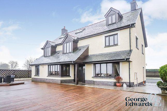 4 bed detached house for sale in Bryngwyn, Newcastle Emlyn SA38