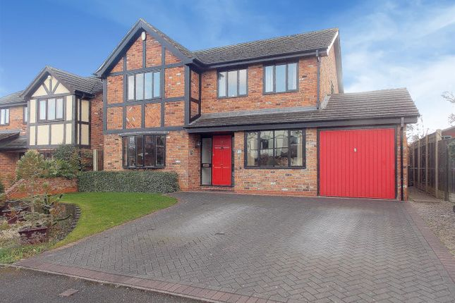Thumbnail Detached house for sale in Cooks Drive, Castle Donington, Derby