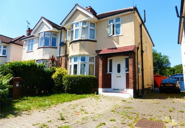 Thumbnail Semi-detached house for sale in Woodlands Grove, Isleworth, Middlesex