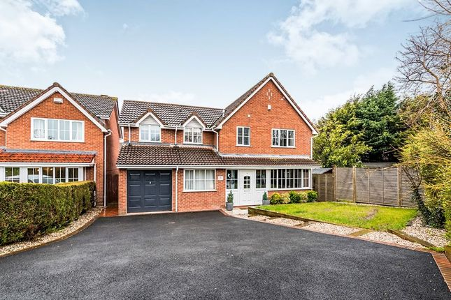 Thumbnail Detached house for sale in Brook Meadow, Shawbirch, Telford