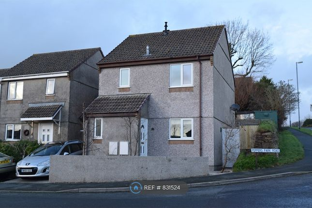 Thumbnail Detached house to rent in Peppers Park Road, Liskeard