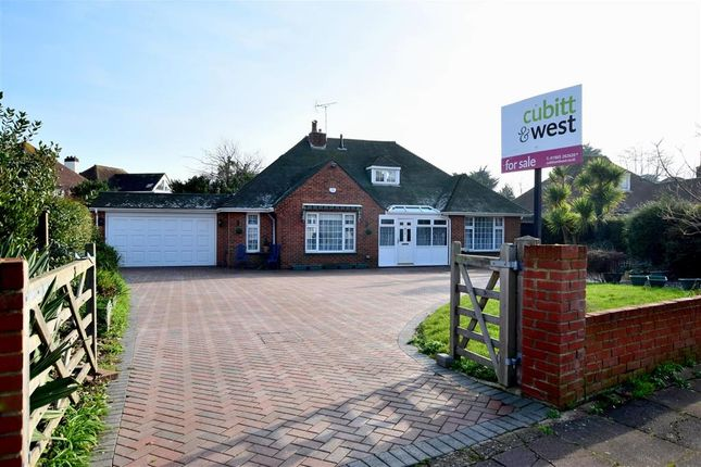 Thumbnail Detached house for sale in Goodwood Road, Worthing, West Sussex