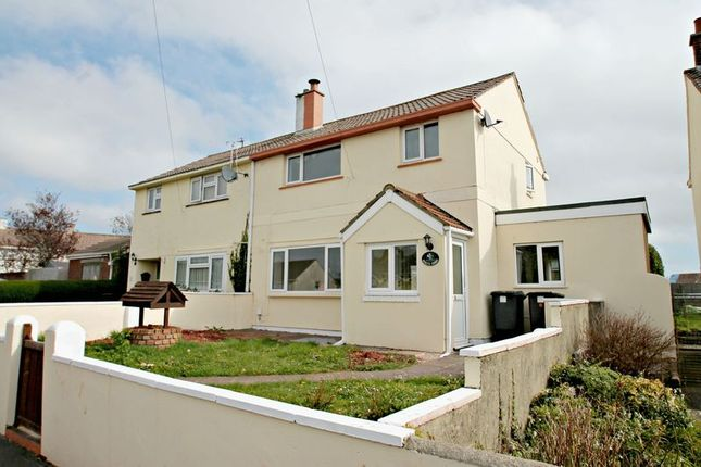 3 bed semi-detached house to rent in Grenville Avenue, Torquay