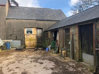 Thumbnail Land for sale in Barn Conversion At, Graig-Yr-Hufen Farm, Senghenydd, Caerphilly