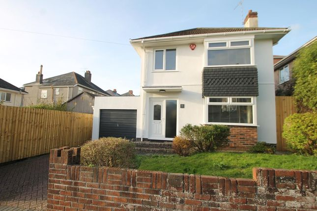 Thumbnail Detached house for sale in Brent Knoll Road, Plymouth
