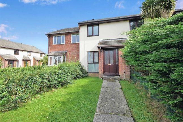 Thumbnail Terraced house for sale in Berkeley Close, Stratton, Bude, Cornwall