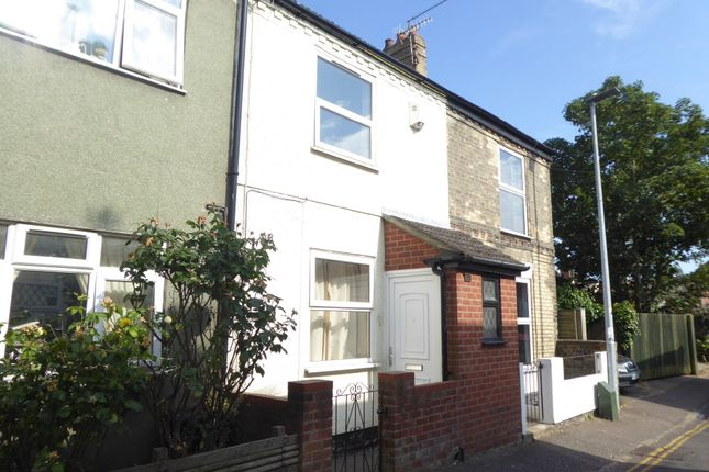 Thumbnail Terraced house to rent in Drudge Road, Gorleston, Great Yarmouth