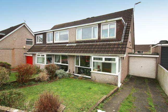Thumbnail Semi-detached house for sale in Torbridge Close, Saltash