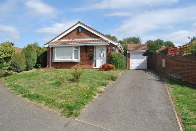Thumbnail Detached bungalow for sale in Garsdale, Kingsthorpe, Northampton