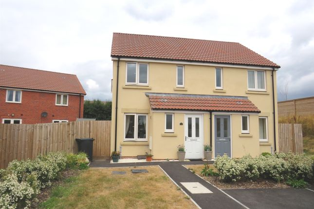 Thumbnail Semi-detached house for sale in Beacon Close, Bathpool, Taunton