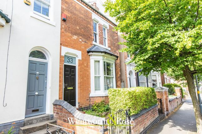 Thumbnail End terrace house for sale in Albany Road, Harborne, Birmingham