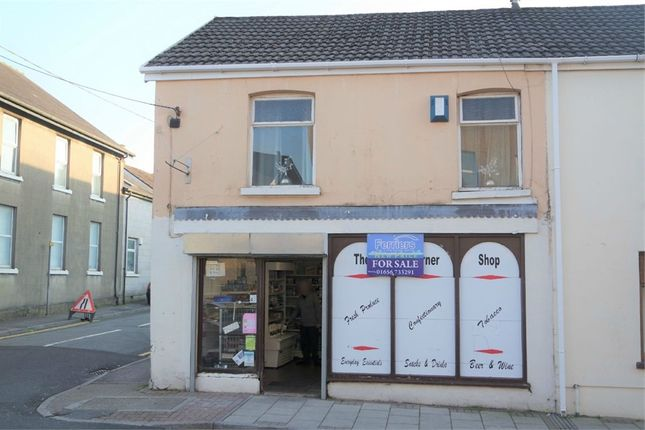 Thumbnail Commercial property for sale in Station Street, Maesteg, Mid Glamorgan