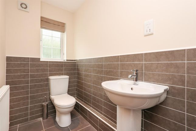 Ensuite of Princeton House, Old Pheasant Court, Brookside, Chesterfield S40