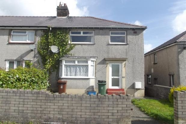 Thumbnail Semi-detached bungalow to rent in Ffordd Coed Mawr, Bangor