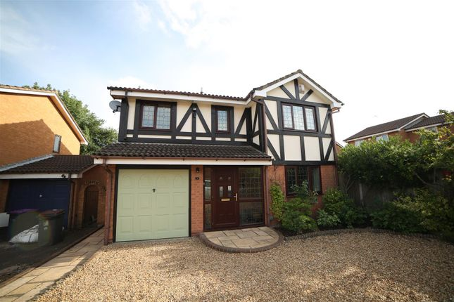 Thumbnail Detached house for sale in Grebe Close, Holmer Lake, Telford