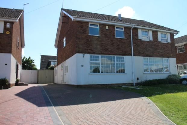 Thumbnail Semi-detached house to rent in Melloway Road, Rushden