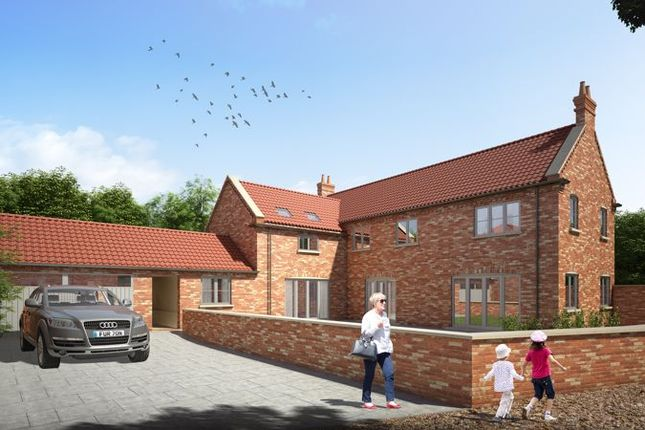 Thumbnail Detached house for sale in Plot 1, Plum Tree Rise, North Leverton, Retford