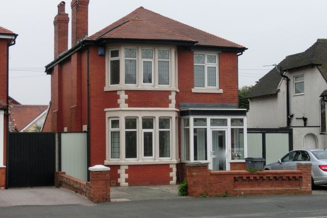Thumbnail Detached house to rent in Warbreck Hill Road, Bispham, Blackpool, Lancashire